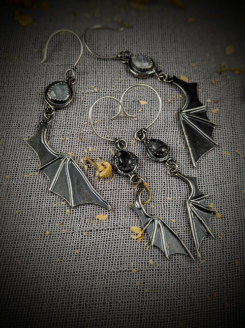 On The Fly Bat Wing Earrings - *MADE-TO-ORDER*