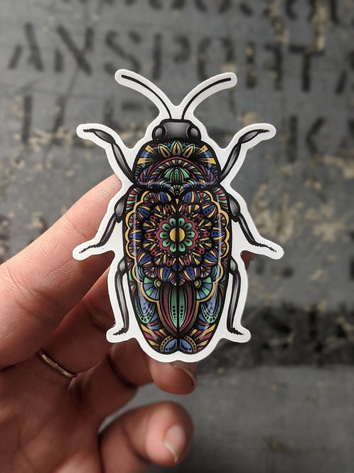 Jewel Bug Sticker