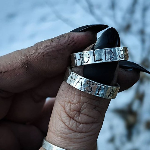 Hold Fast ring set - Made To Order
