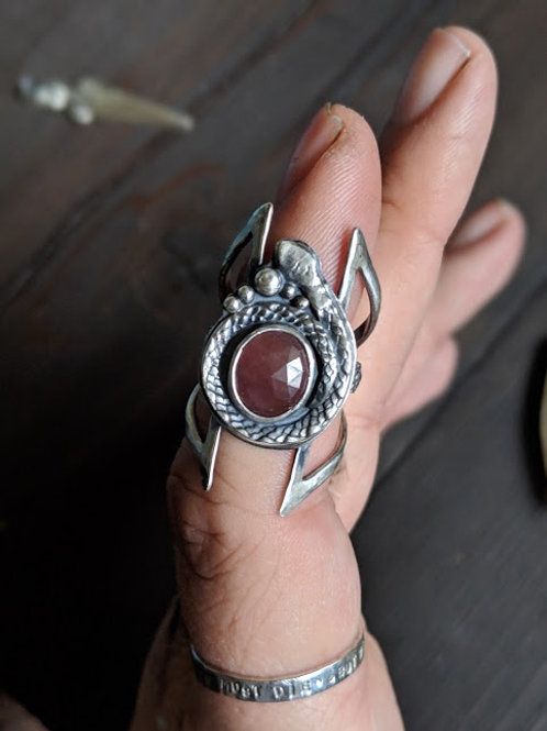 Snake Totem Ring {size 7.75} | Armor Collection Pt. 1