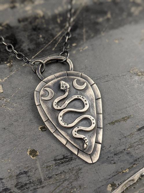 Snake Totem Necklace