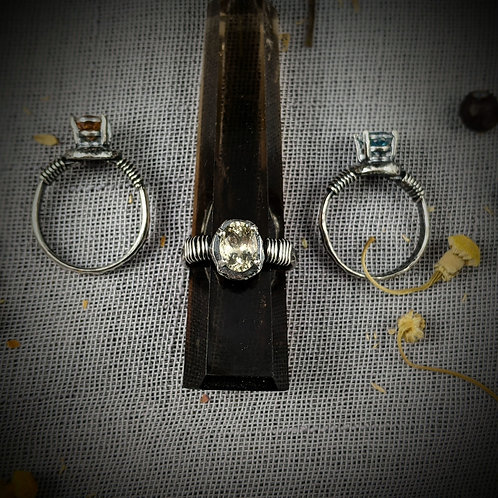 Relic Ring - Single Band - Midnight Macabre Collection