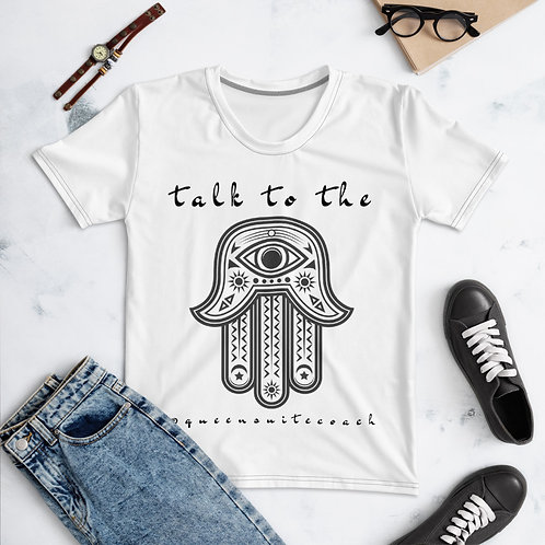 Talk to the Hamsa Hand Women's T-shirt