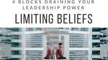 4 Blocks Draining Your Leadership Power