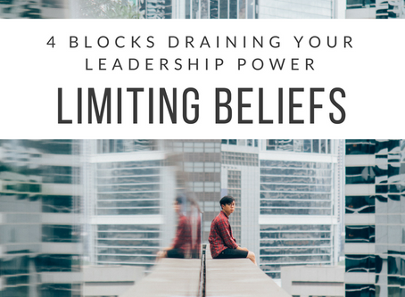 4 Blocks Draining Your Leadership Power