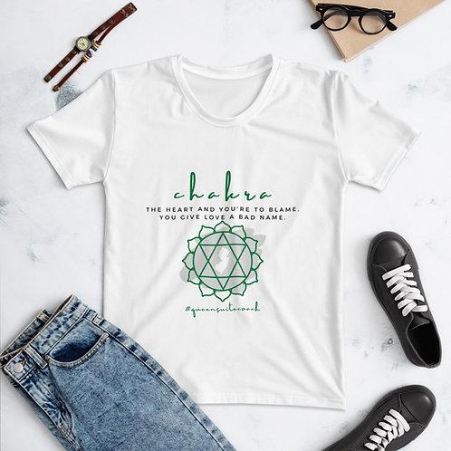 Chakra Rock Jersey Style Women's T-shirt