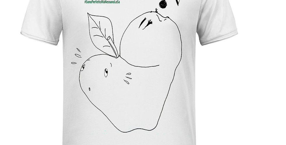 T-Shirt Uomo - Mela