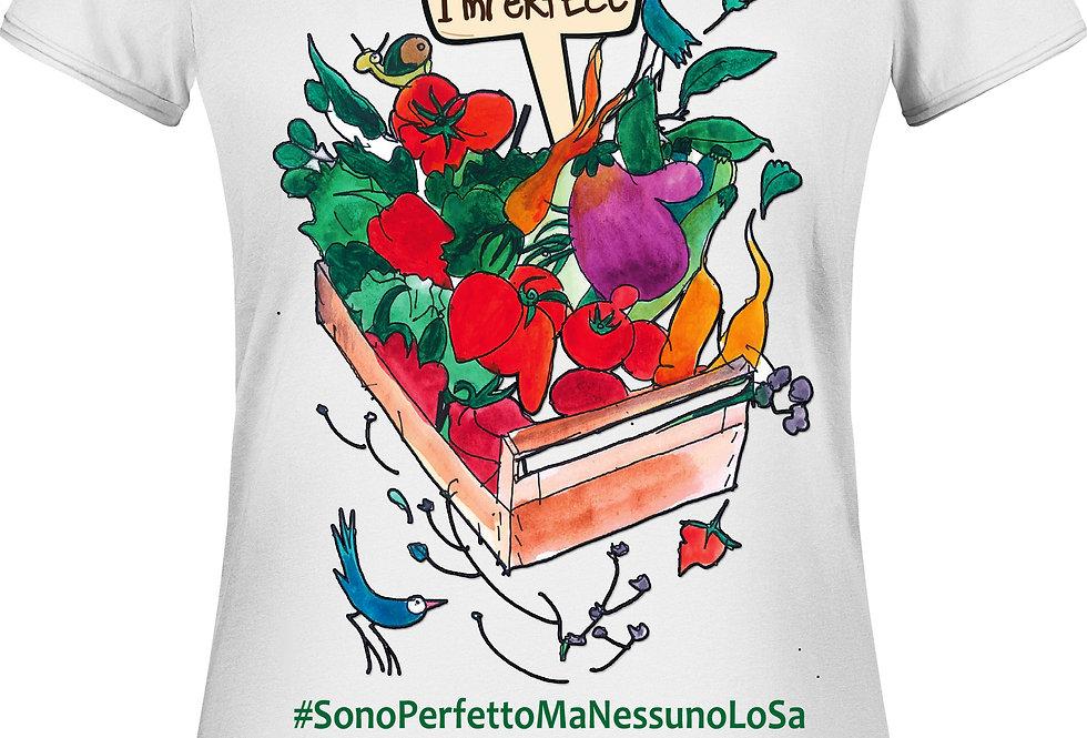 T-Shirt Donna - Cassetta