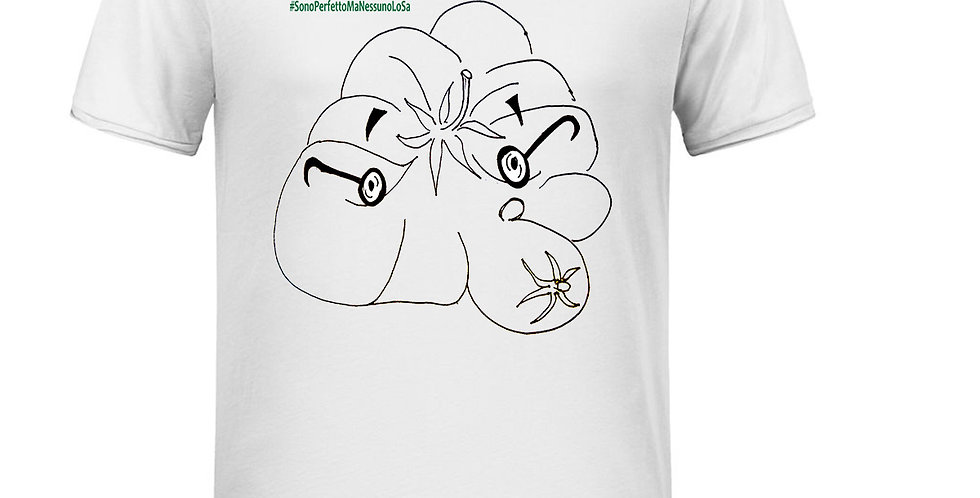 T-Shirt Uomo - Pomodoro