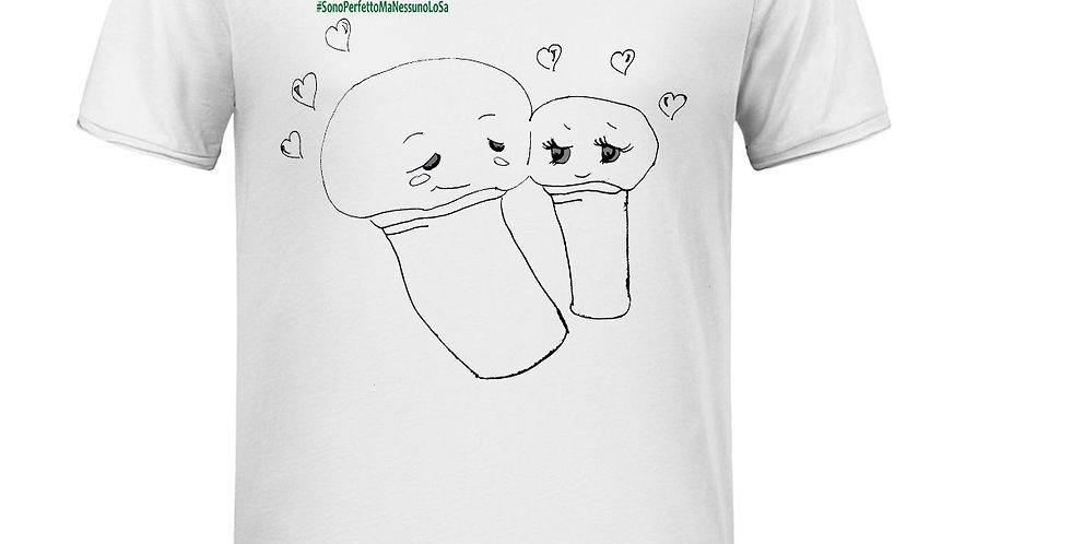T-Shirt Uomo - Funghi