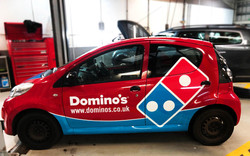 Dominos_Red left view
