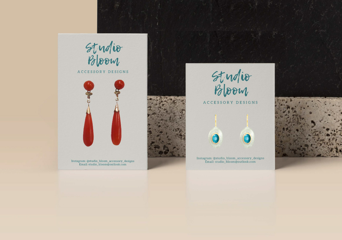 Earring Accessory Card Mockups2