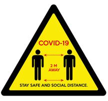 Covid-19 Warning Sign [Artwork + Cut Gui