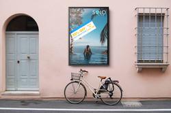 Mockup brand Solo Travel promo poster2