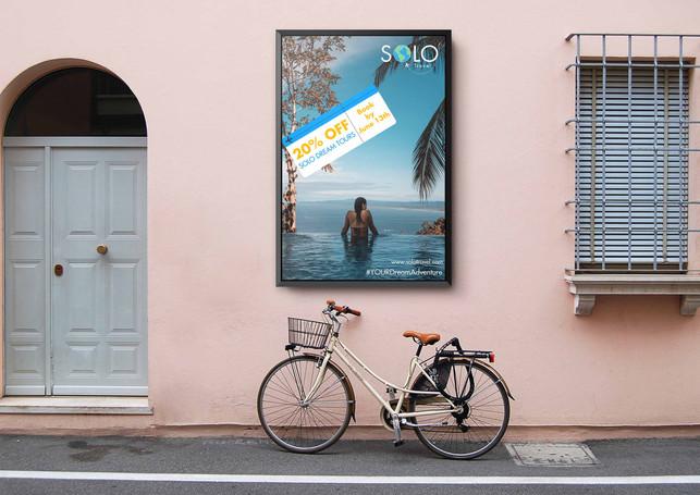 Mockup brand Solo Travel promo poster2.j
