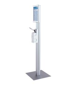 Freestanding Modular Sanitiser Dispenser