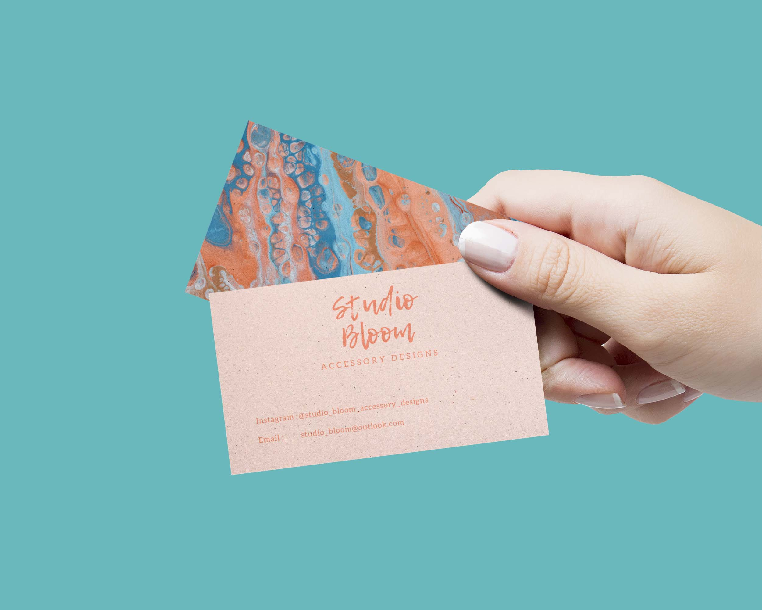 Business Card Hand 1