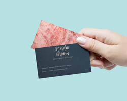 Business Card Hand 2