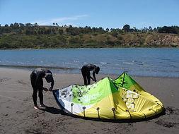 kite lesson chile
