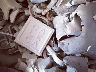lavorare con gli scarti di ceramica...per nuove linee di ecodesign