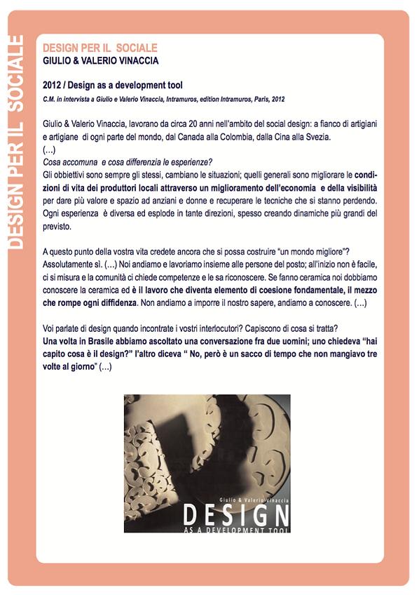 DESIGN PER IL SOCIALE GIULIO E VALERIO V
