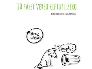 rifiuti zero illustrato e descritto da due designer