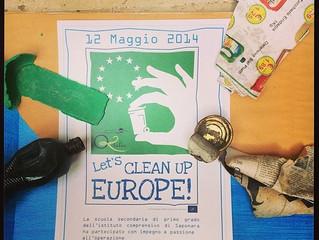 grande azione lets clean europe..non potevo mancare!