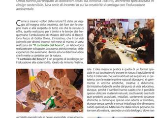 il cartolaio del bosco incontra i bambini dell'associazione italiana assistenza spastici della p