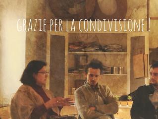 Antonia Teatino di o2italia, Francesco Faccin Designer, Alessandro Garlandini del Vespaio si confron