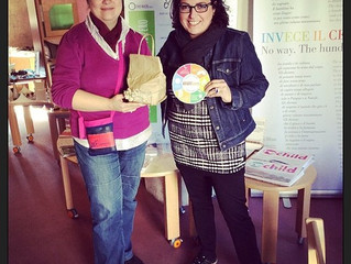 incontro con Patrizia Pappalardo con cui abbiamo collaborato a distanza per la partecipazione di Rif