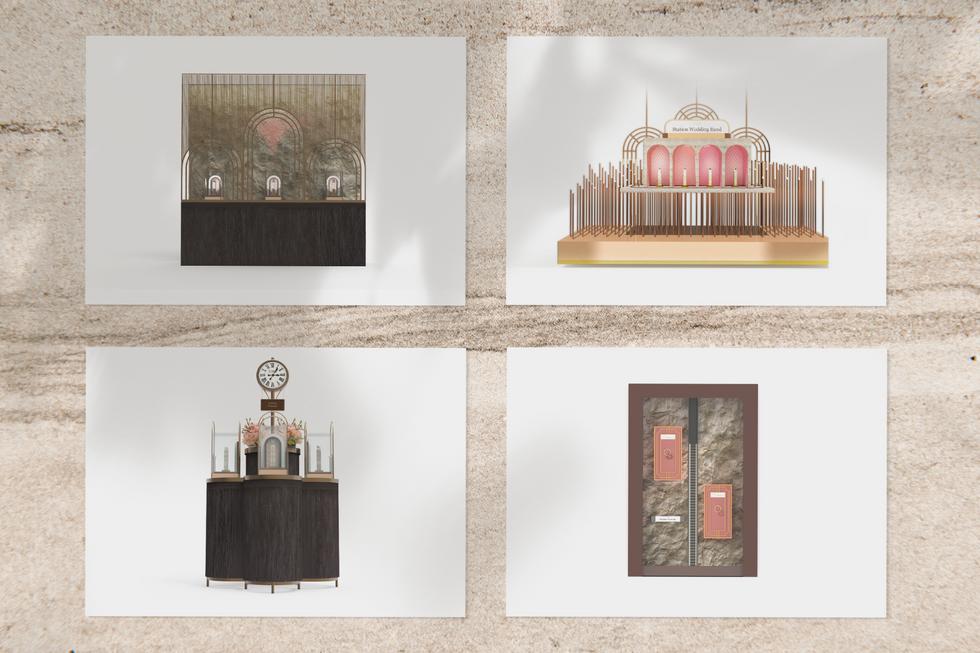 Jewelry Display Design Furniture