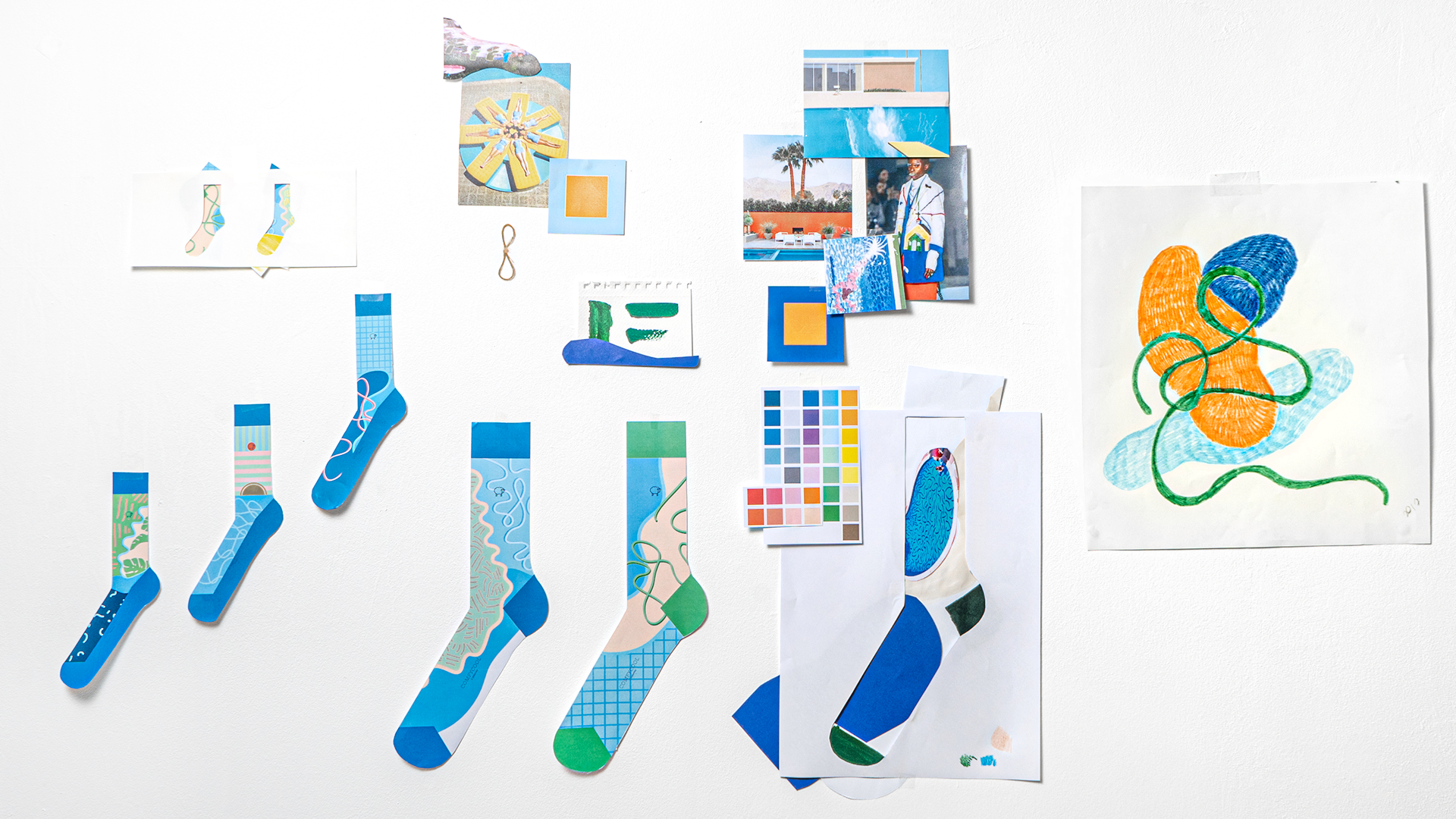Socks Design Process