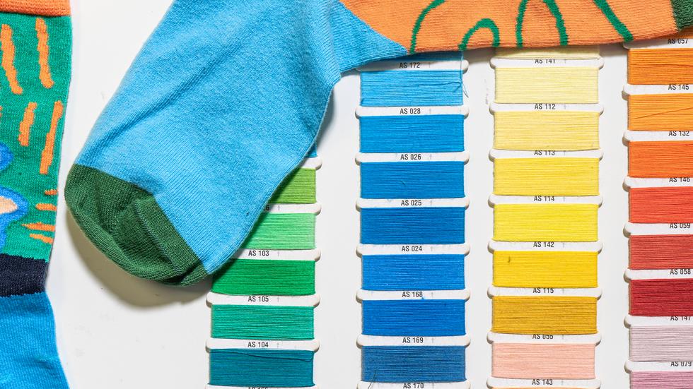 Sock Color Sample
