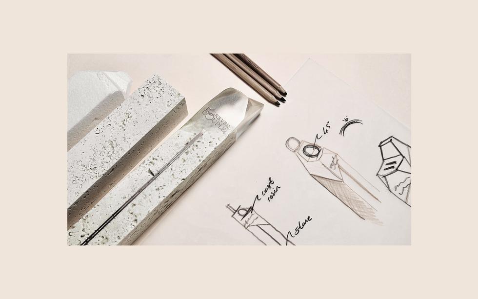 Jewelry Display Design Sketch