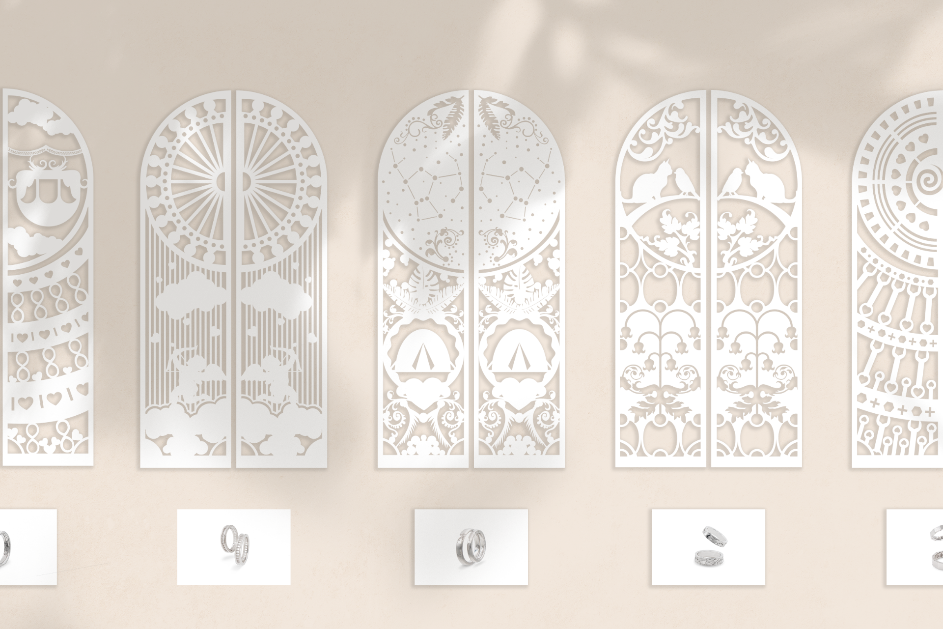 Jewelry Display Design Personalisation