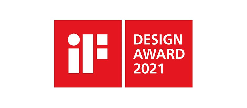 iF Design Award 2021 - Winner 3x