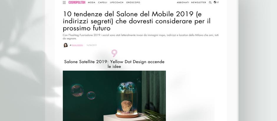 Cosmopolitan Italia - Salone del Mobile 2019