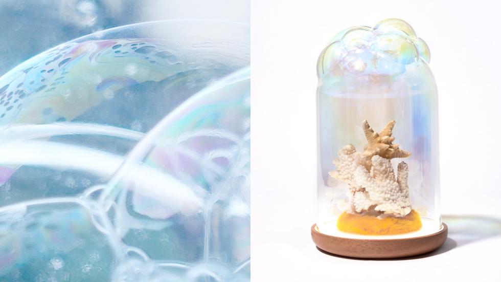 Soap Bubble Lighting Dome