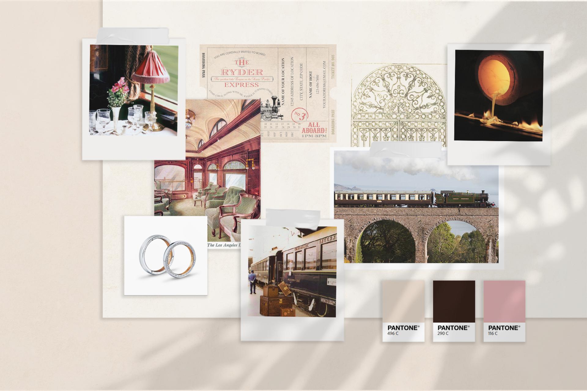 Jewellery Display Design Moodboard