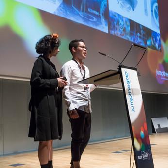 Bodin + Dilara awarded at the 7th Jumpthegap Ceremony in Barcelona