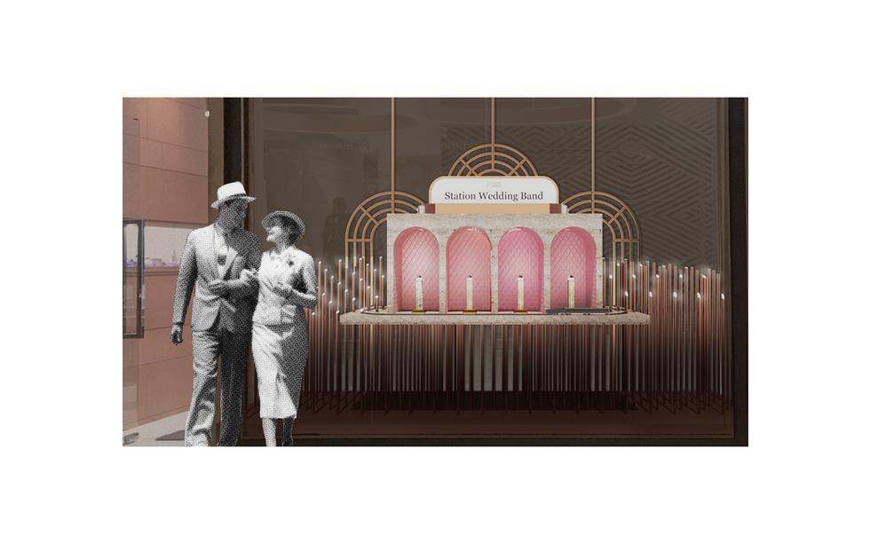 Jewelry Display Design Concept