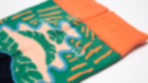Socks pattern design