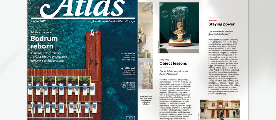 Atlas by Ethiad Magazine - August 2019