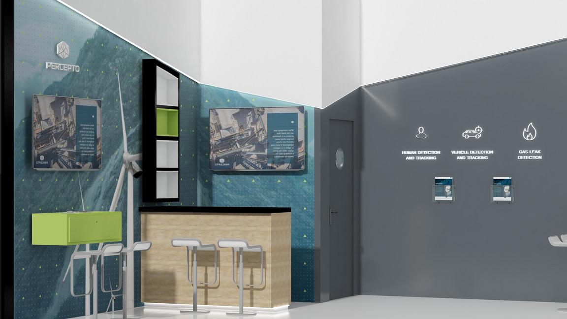 PERCEPTO. exhibtion design