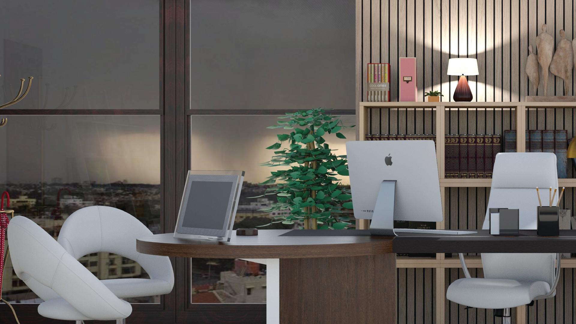 #עיצוב משרדי #חווית מרחב העבודה הביתי. ר