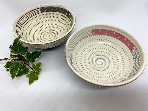 【森喜窯】お茶碗セット 野草茶付き