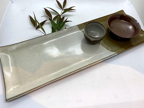【高取八仙窯】長板皿セット(プレゼント付き♪)