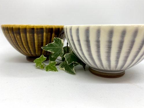 【福嶋製陶】お茶碗セット 野草茶付き