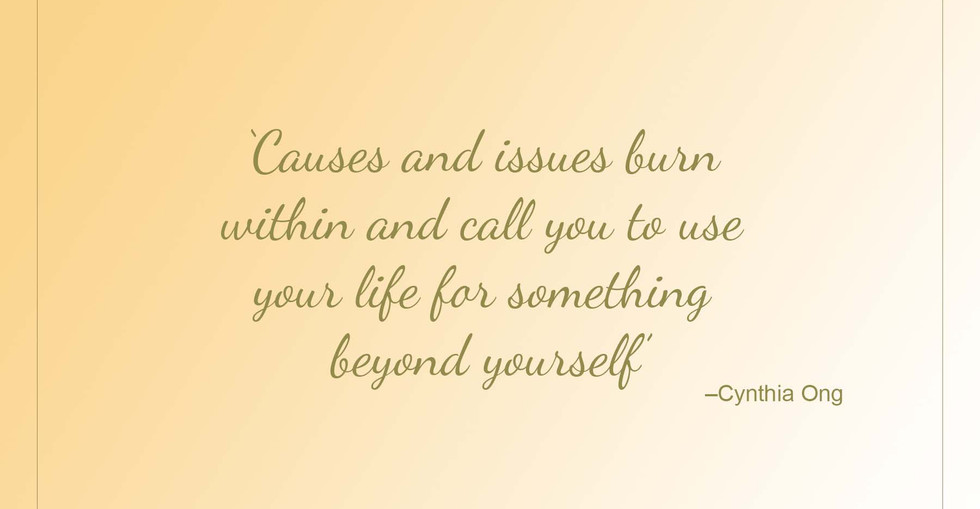 Sisters Quote - Cynthia Ong