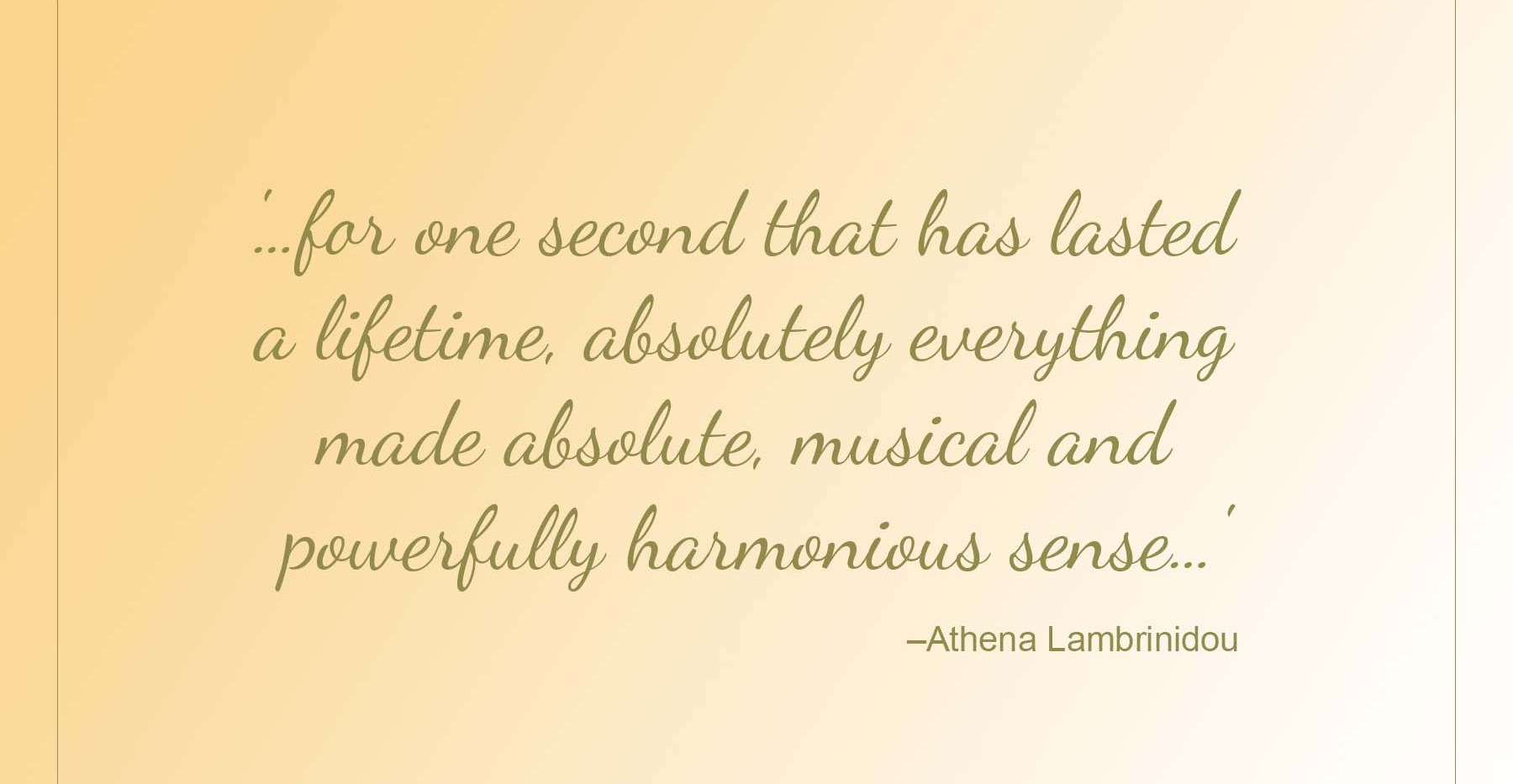 Sisters Quote - Athena Lambrinidou